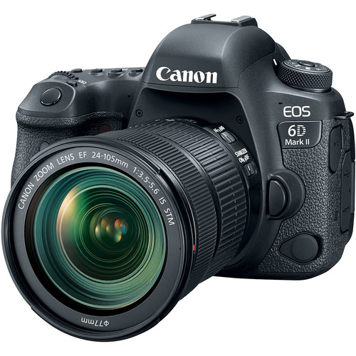 CANON EOS 6D Mark II + EF 24-105mm IS STM