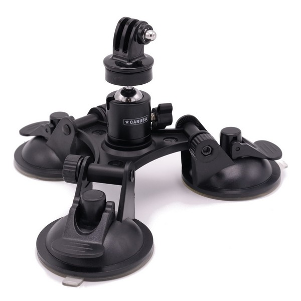 Triple Mount Suction Cup PRO p/ Gopro