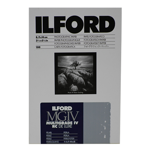 ILFORD Multigrade MGIV 4th RC Deluxe Pearl 9x14cm (x100)