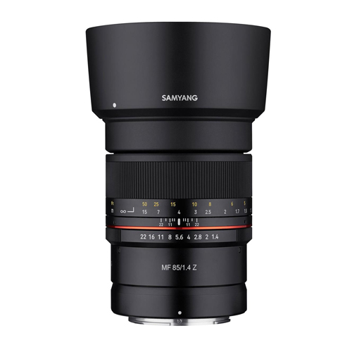 SAMYANG MF 85mm f/1.4 p/ Nikon Z