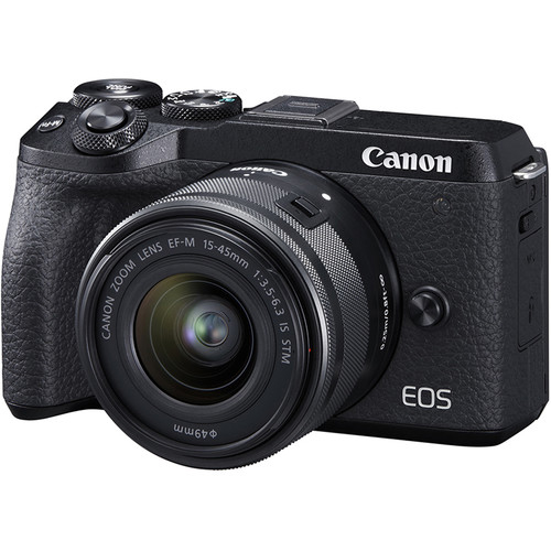CANON EOS M6 II + 15-45mm f/3.5-6.3 IS STM + EVF-DC2