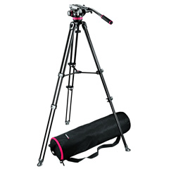 Manfrotto MVK502AM + Head 502HD + saco