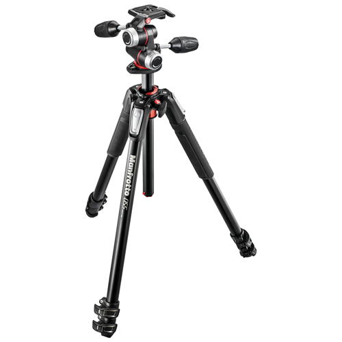 Manfrotto MK055XPRO3-3W + X-PRO 3-Way Head