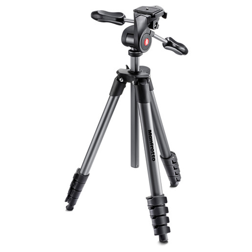 Manfrotto Compact Advanced Black Tripod