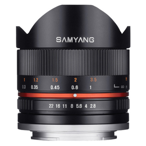 SAMYANG 8mm Fisheye F2.8 II Sony E