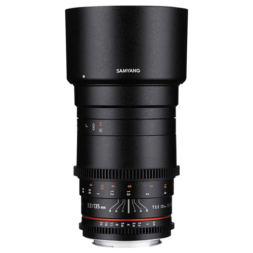 Samyang 135mm T2.2 AS UMC VDSLR II Canon