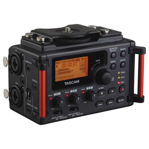 Tascam DR-60D Mark II 4-Channel Audio Recorder