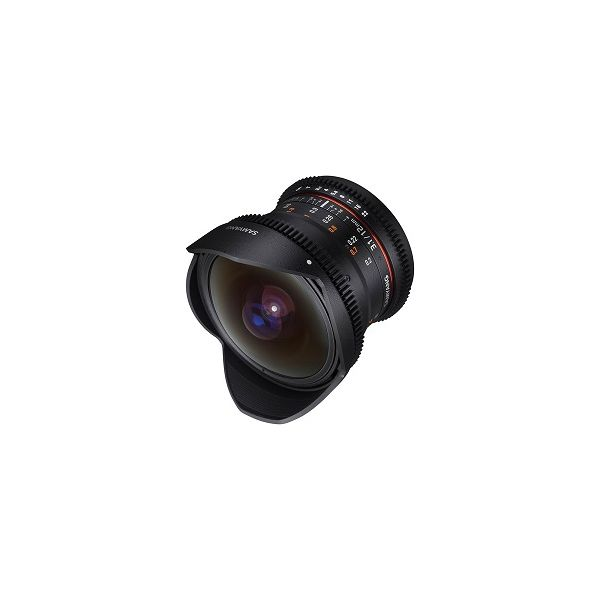 SAMYANG 12mm T3.1 VDSLR ED AS NCS Fisheye m4/3