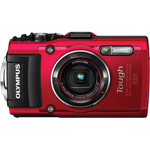 Olympus Tough TG-4 Red