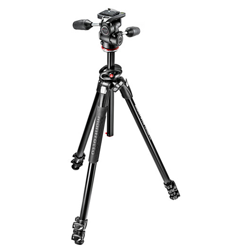 Manfrotto MK290DUA3 + 3 Way Head