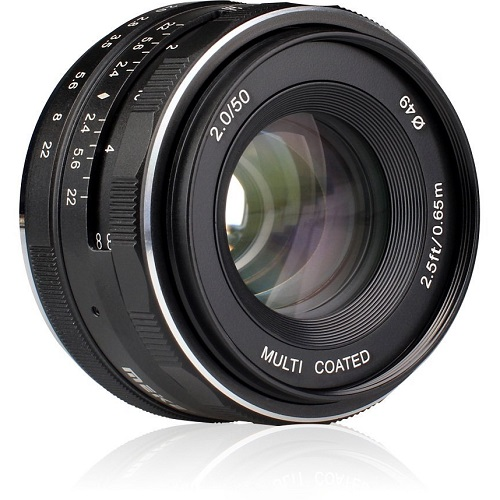 Meike MK-50mm f/2.0 Sony E-Mount