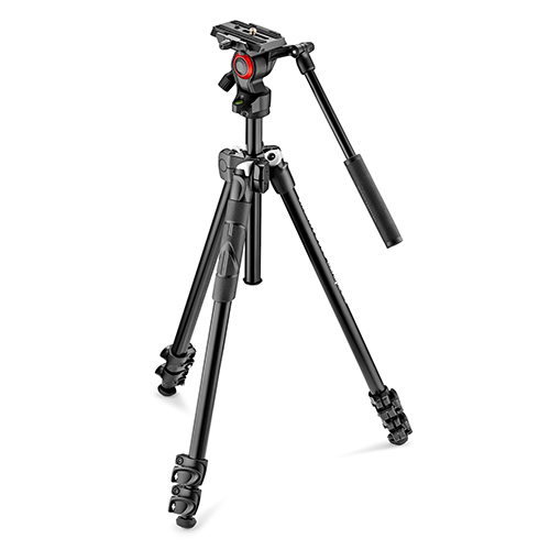 Manfrotto MK290LTA3-V + befree fluid video head