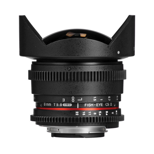 SAMYANG 8mm T3.8 UMC Fish-Eye VDSLR II Nikon