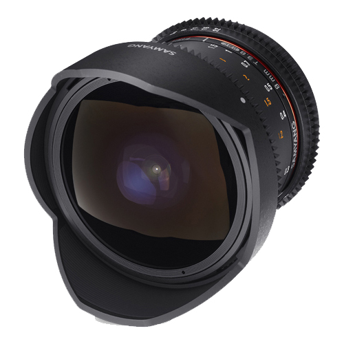 SAMYANG 8mm T3.8 UMC Fish-Eye VDSLR II Micro 4/3