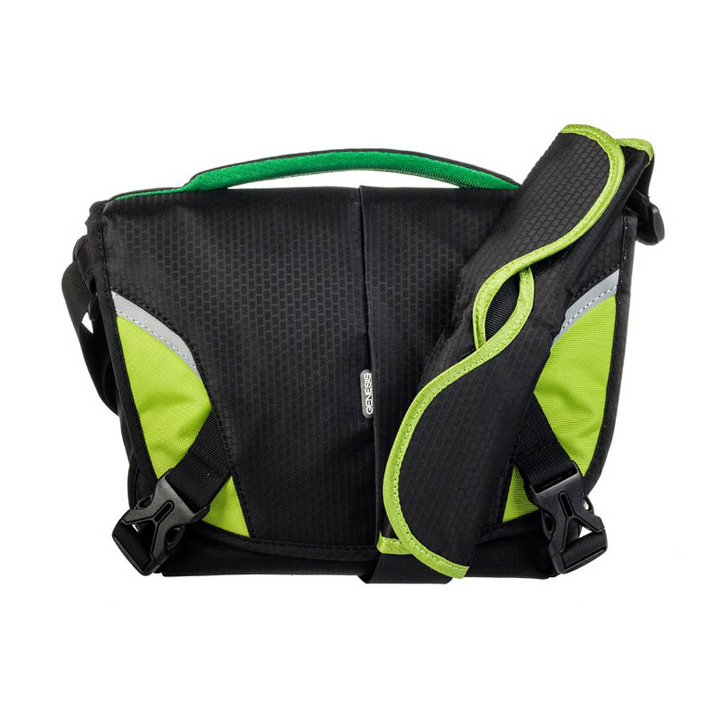 Genesis Boston Camera Bag (black/green)
