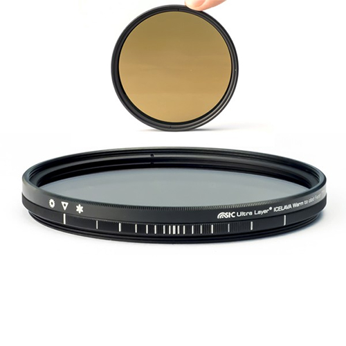 Icelava Filtro Warm-to-Cold Fader 82mm